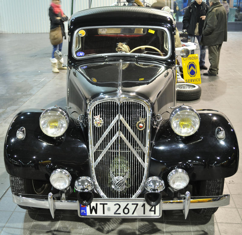 Download Citroen Traction Avant editorial image. Image of exceptional - 12923135