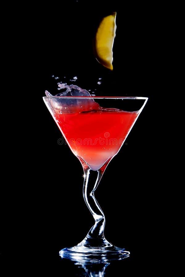 Citroendalingen in Curvy-Cocktail stock fotografie