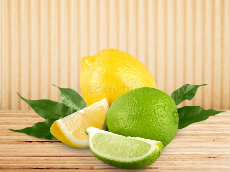 Citron royaltyfria bilder