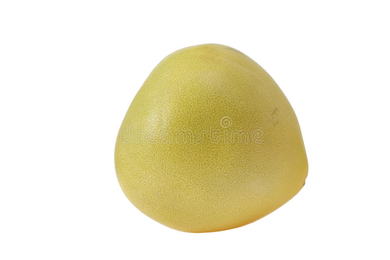 Citron. On white background. isolated object stock photography