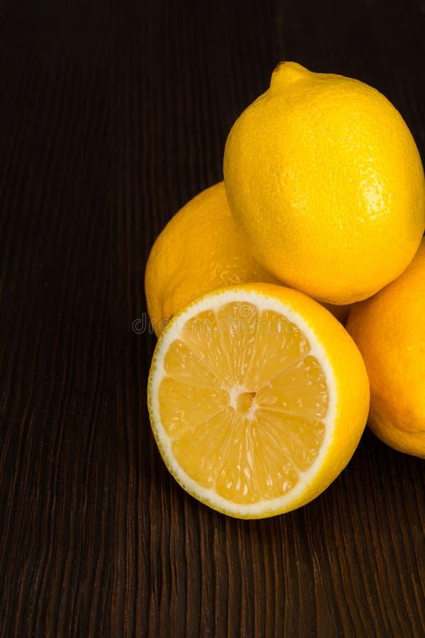 Citron royaltyfri bild
