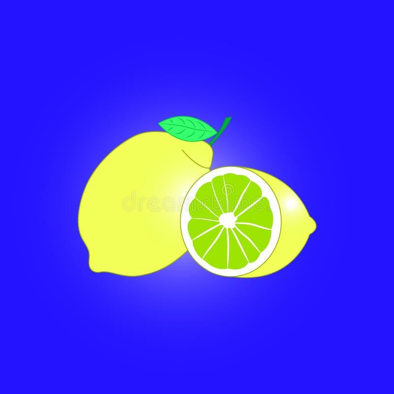 Citron illustration de vecteur