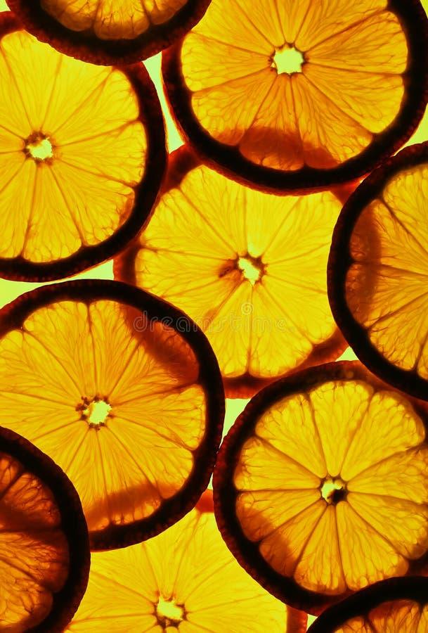 Citron coupé en tranches photos stock