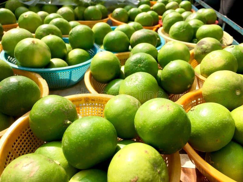 Citron dans thaïlandais photos stock