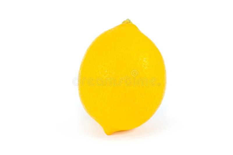Citron entier sur l'extrémité photos stock