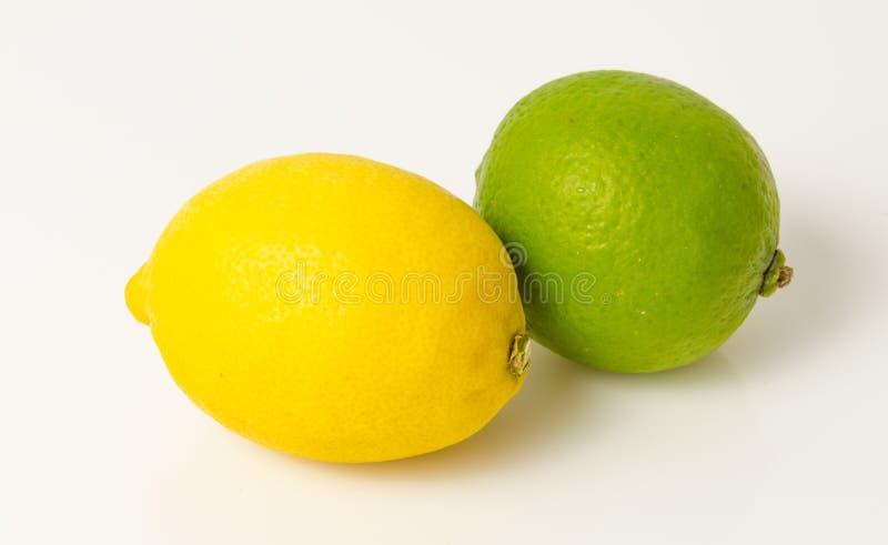 Citron et chaux images libres de droits
