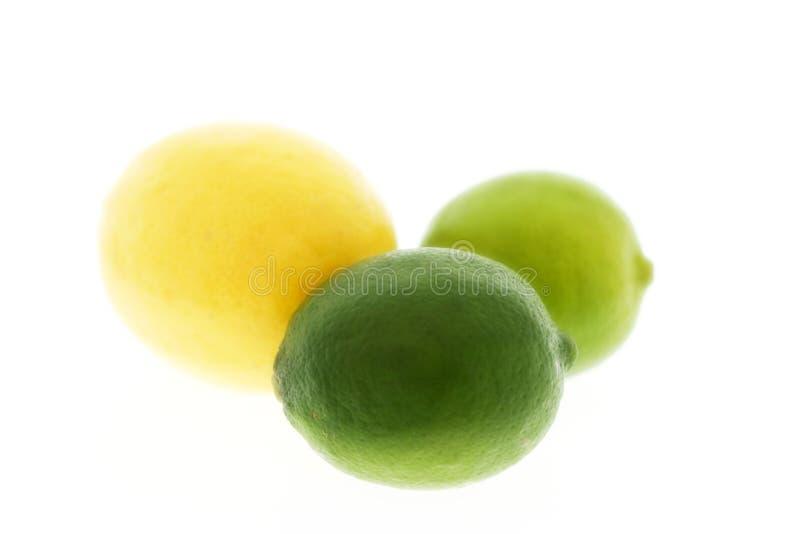 Citron et limette image libre de droits