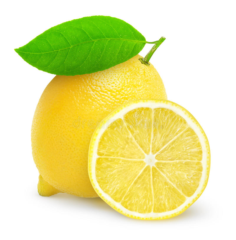Citron frais photo stock