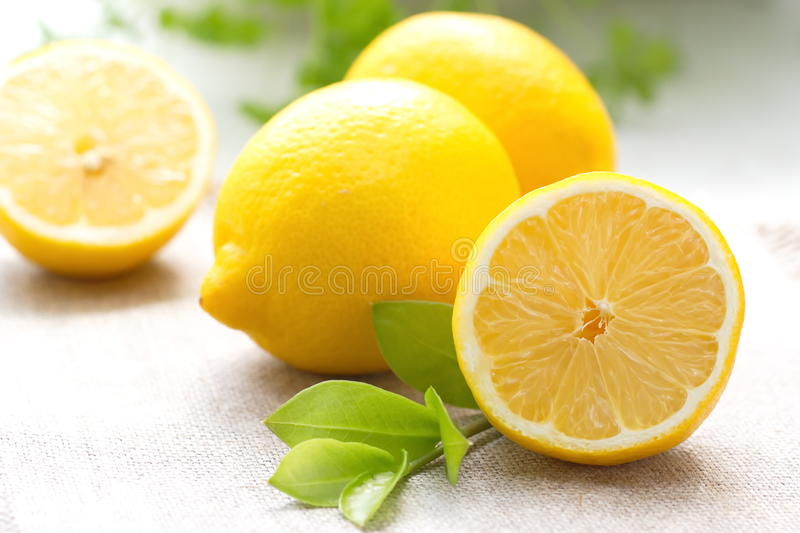 Citron frais photo libre de droits