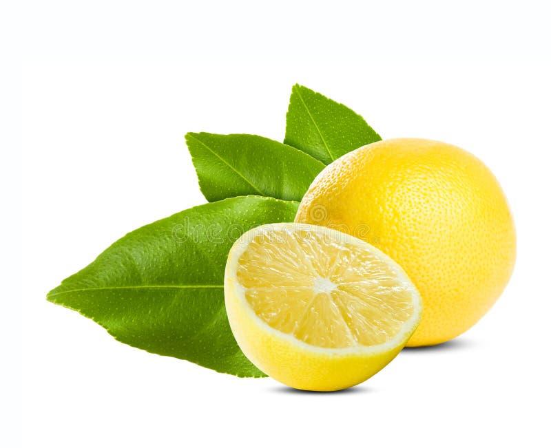 Citron frais juteux. photos stock