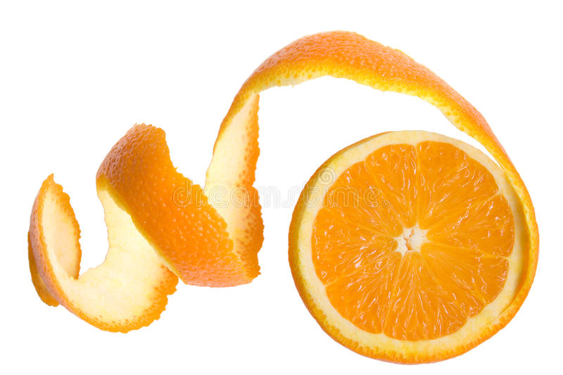 Citron of orange royalty free stock image