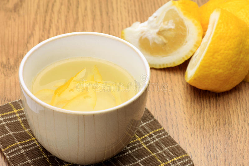 Citron tea. This is Japanese citron tea royalty free stock images