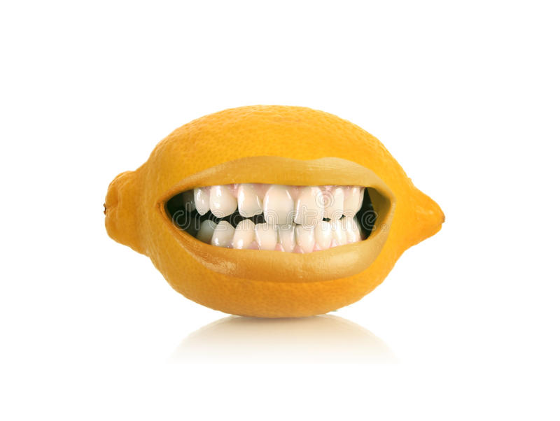 citron - yellow arkivbilder