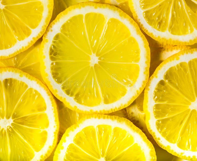 Citronbakgrund fotografering för bildbyråer