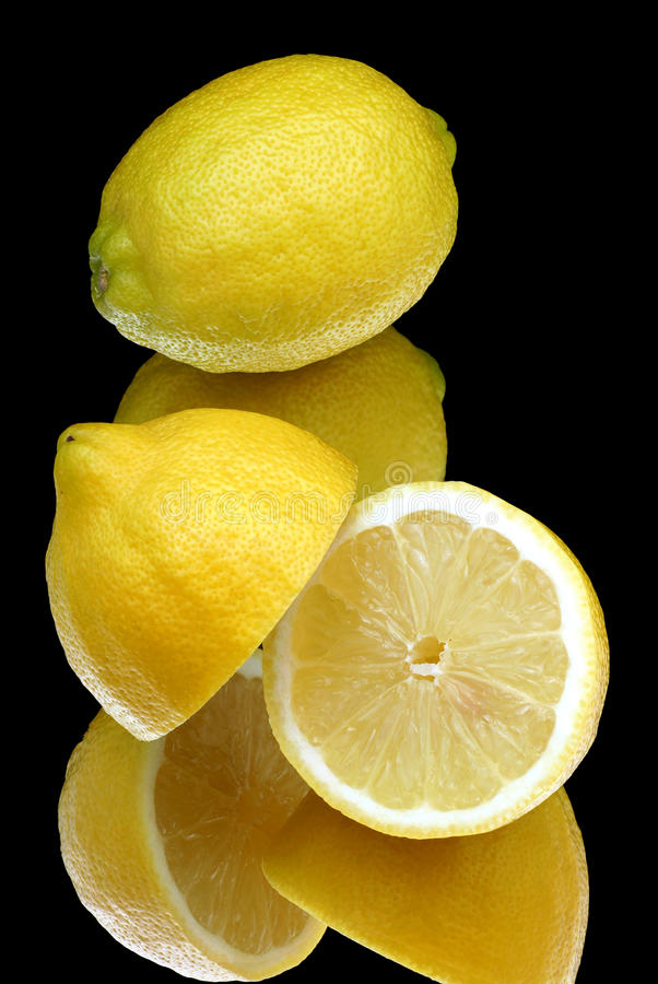 Citroner. royaltyfri foto