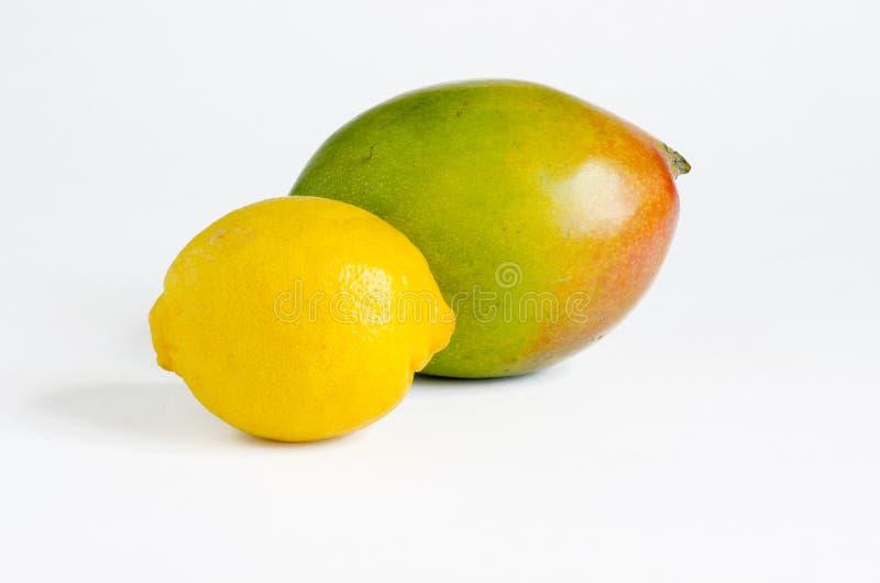 citronmango royaltyfria foton
