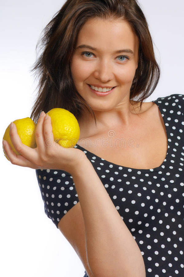 Citrons image stock