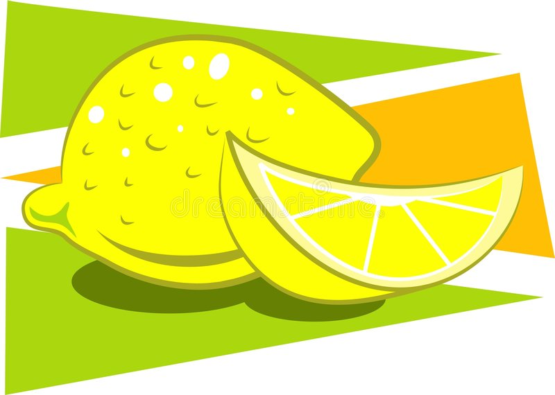 Citrons illustration de vecteur