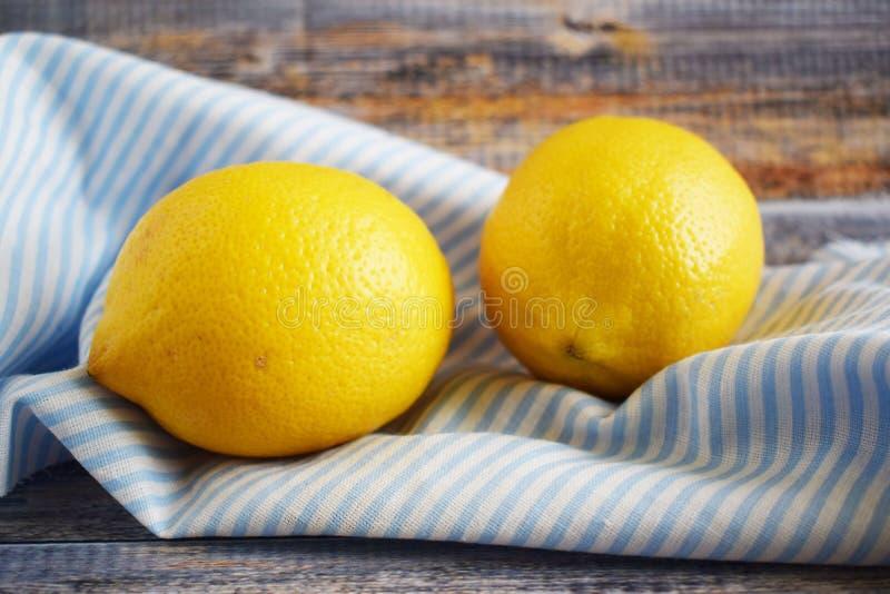 Citrons délicieux et sains photos libres de droits
