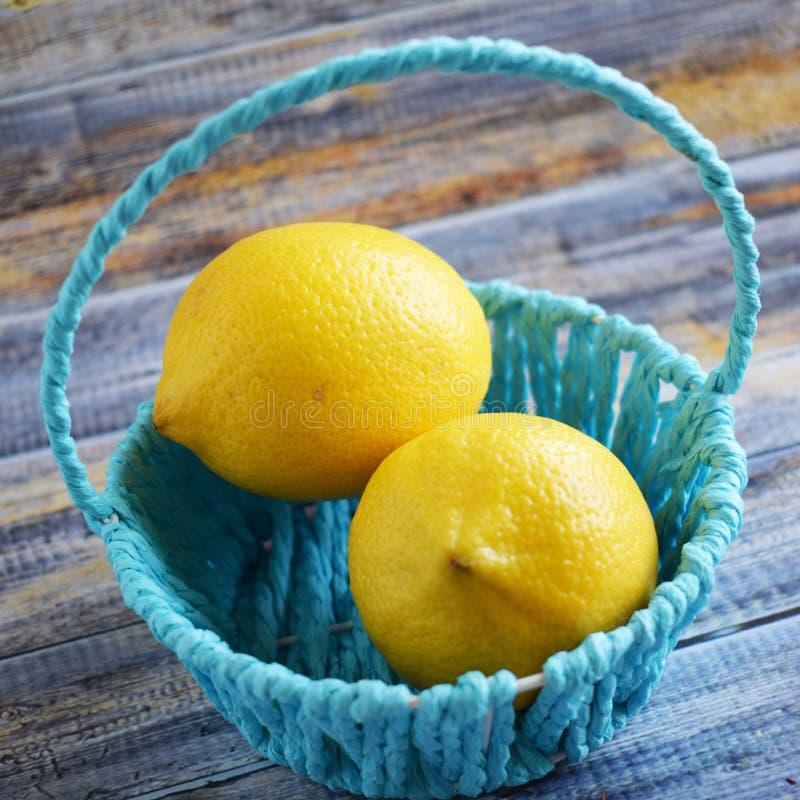 Citrons délicieux et sains images stock