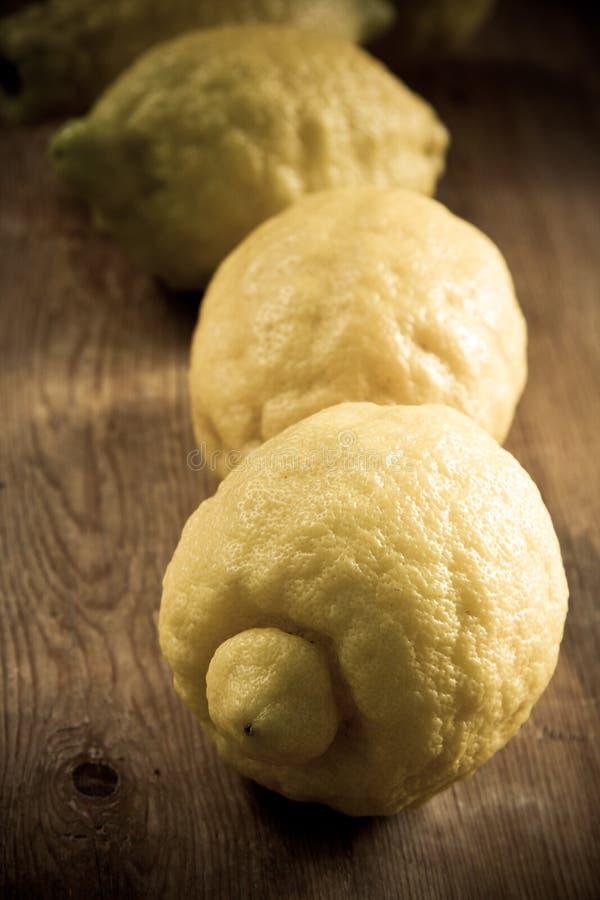 Citrons de Sorrento photos stock