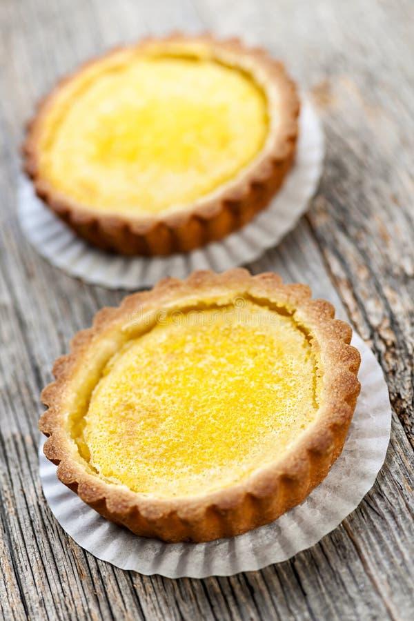 Citrontarts arkivbild