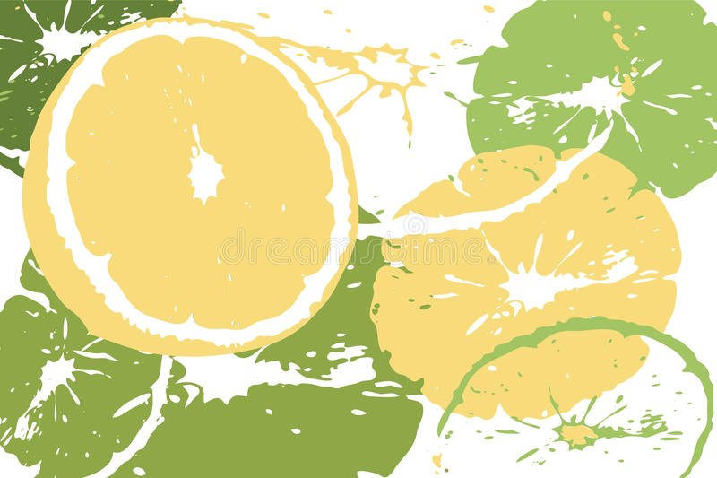 Download Citrus abstract backdrop stock vector. Image of lime - 30803156
