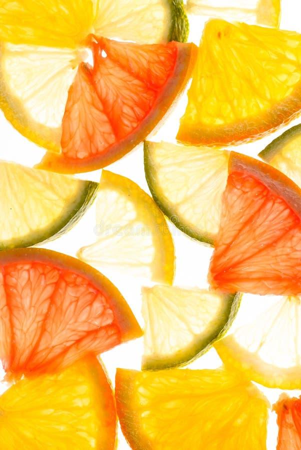 Citrus Background Stock Photography