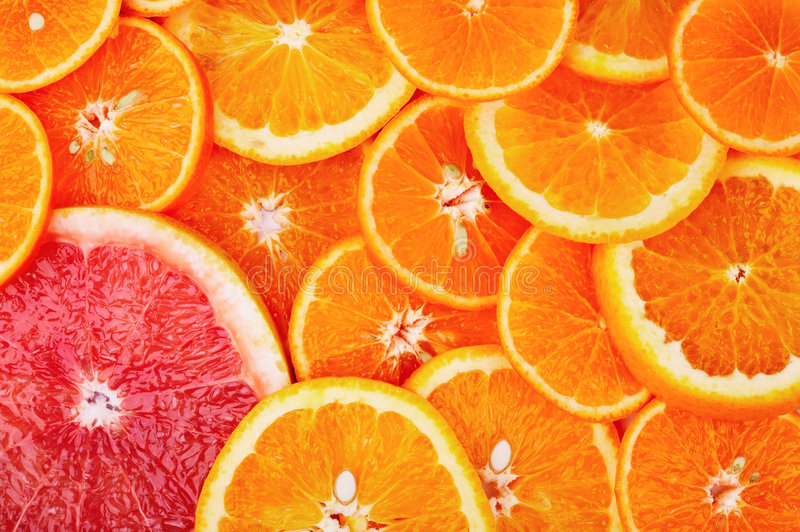 Citrus background royalty free stock image