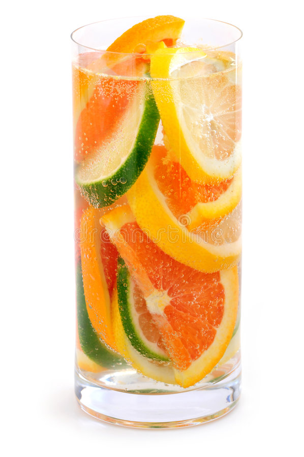 Citrus beverage stock photos