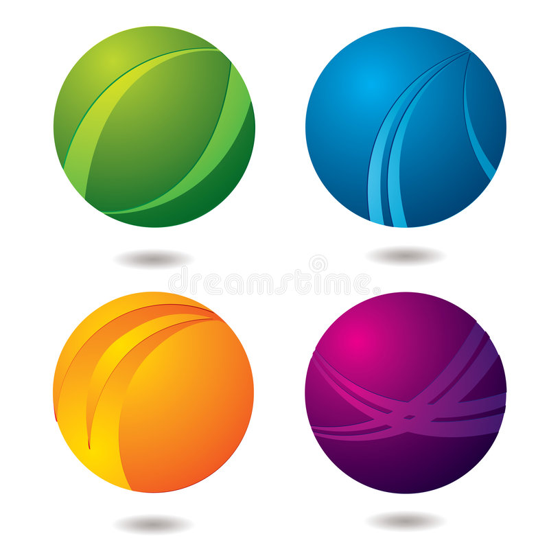 Download Citrus Buttons stock vector. Image of shiny, colorful - 5733754