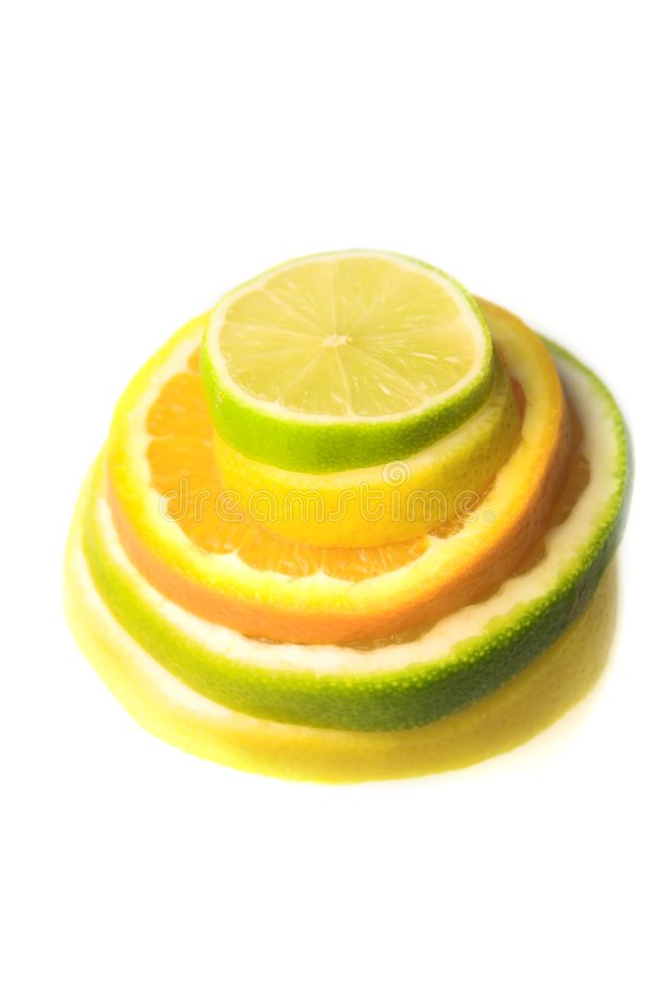 Free Citrus Fruit Slices Stock Photography - 5387362