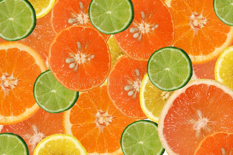 Download Citrus fruits stock image. Image of slices, grapefruits - 496105