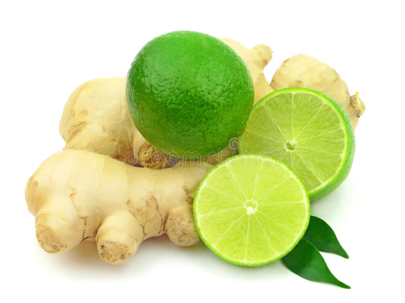 Citrus and ginger stock photography