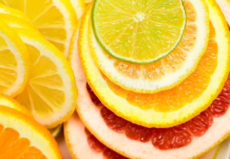 citrus klar text för bakgrund arkivfoto