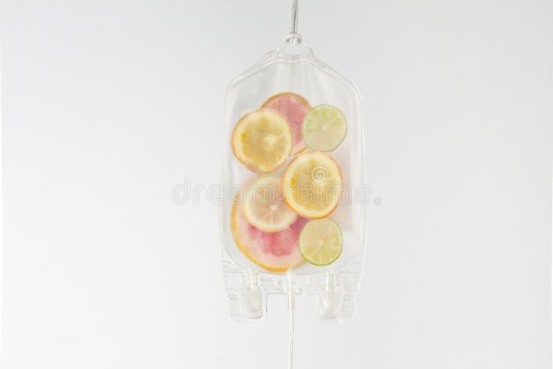Citrus serum arkivbilder