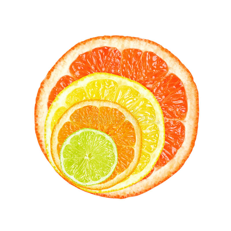 Free Citrus Slices Stock Photo - 25493100