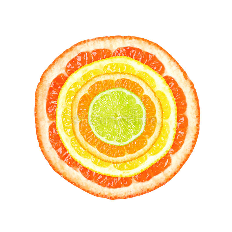 Free Citrus Slices Royalty Free Stock Image - 25493116