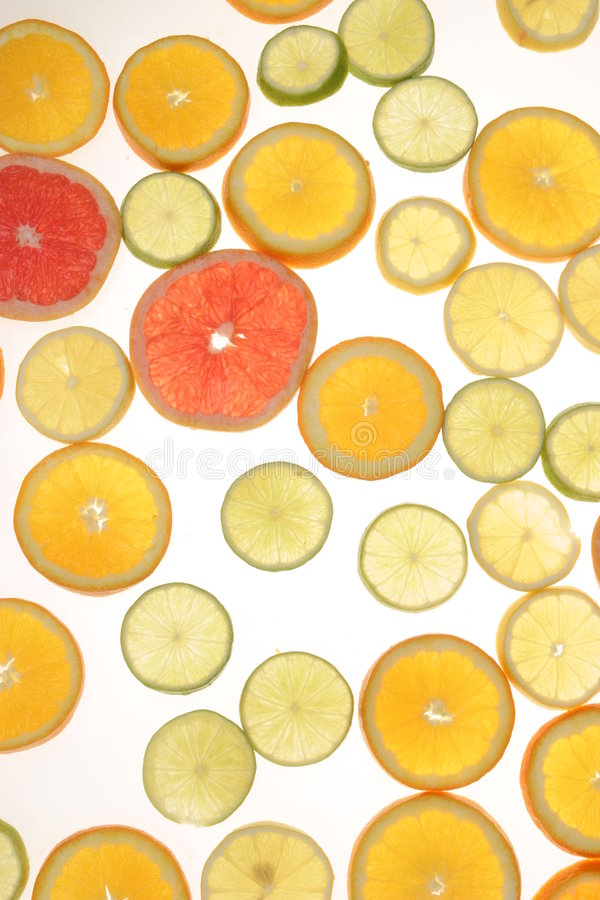 Citrusvrucht stock afbeeldingen