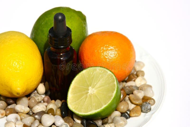 Citrusvrucht Aromatherapy stock afbeelding