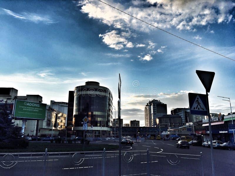 città fotografia stock