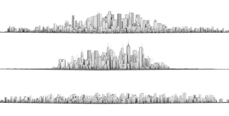 Città royalty illustrazione gratis