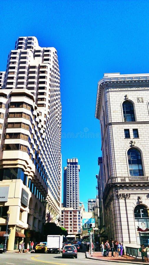 In città fotografia stock