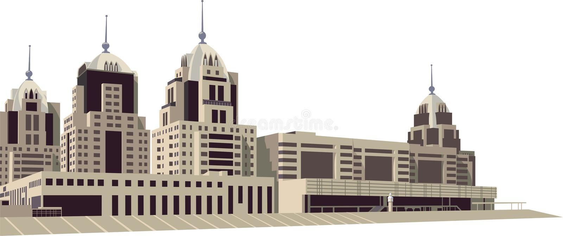 Download Città illustrazione vettoriale. Illustrazione di ditta - 7316896