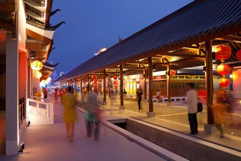 Città antica cinese fotografia stock