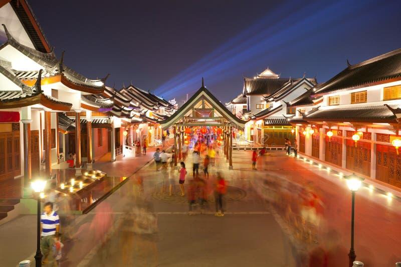 Città antica cinese fotografia stock libera da diritti
