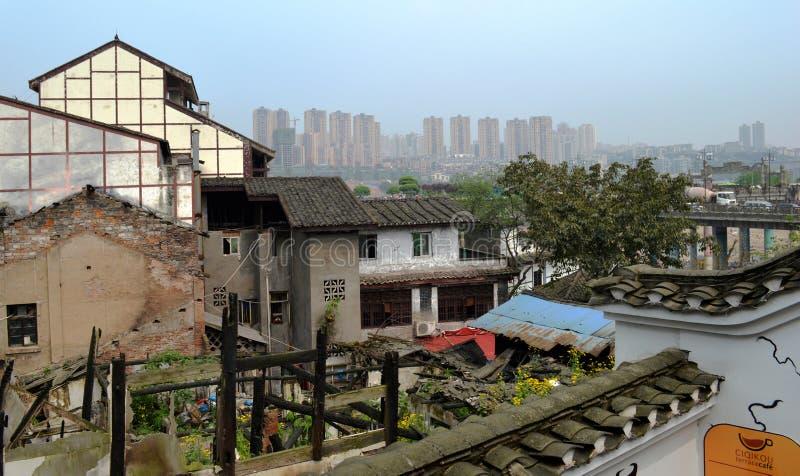 Città antica di Ciqikou fotografia stock