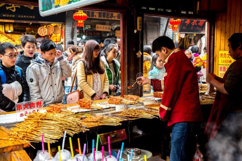 Città antica di Ciqikou fotografia stock libera da diritti