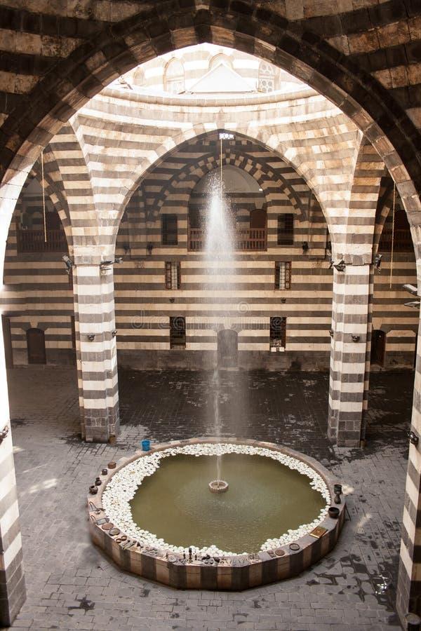 Città antica di Damasco immagini stock libere da diritti