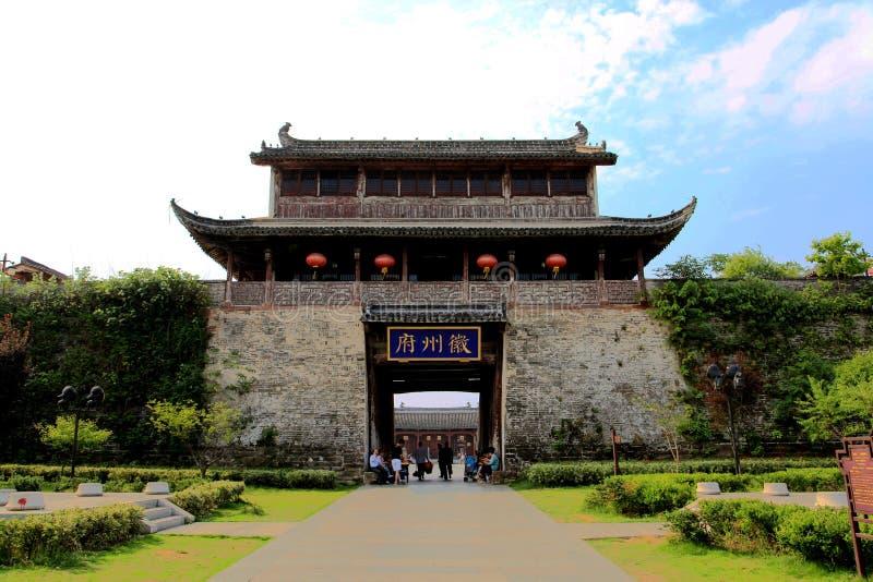 Download Città Antica Di Huizhou, L'Anhui, Porcellana Fotografia Stock - Immagine di storico, antico: 55353662